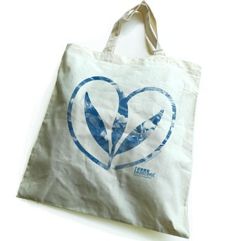 Tea Brews Happiness 100% Natural Cotton Tote Bag