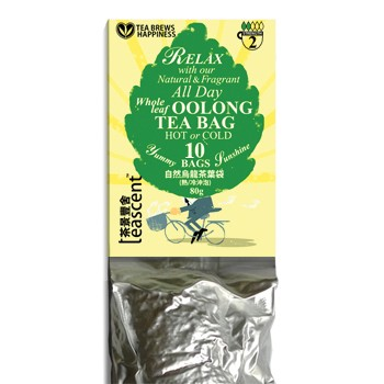 All Day Loose Leaf Oolong Tea Bags - 10 bags Refill Pack