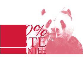 100% taste guarantee